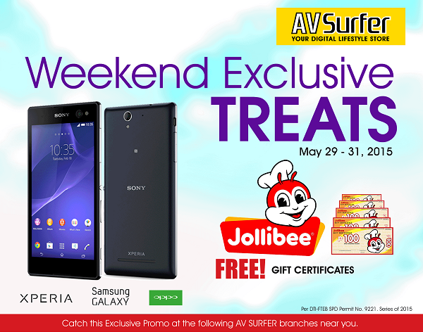 AV SURFER: Weekend Exclusive Treats