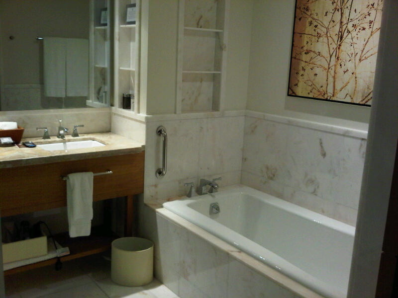 And Here`s My Husband`s Actual Bathroom: