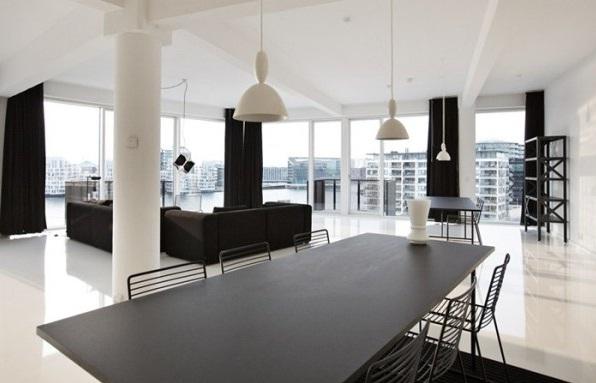 decoraci n de interiores en blanco y negro todo un lujo ForDisenos De Interiores En Blanco Y Negro