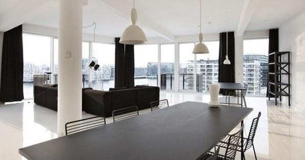 Decoraci n de interiores en blanco y negro todo un lujo for Todo casa decoracion