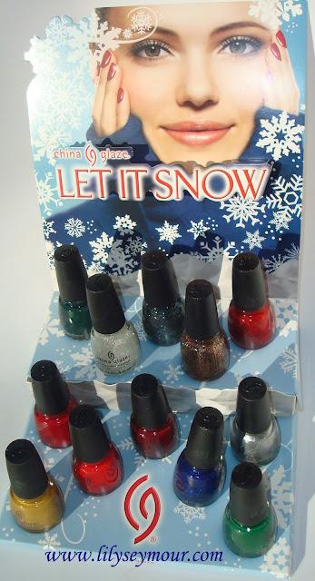 China Glaze 2012 Let It Snow Holiday Gift Set