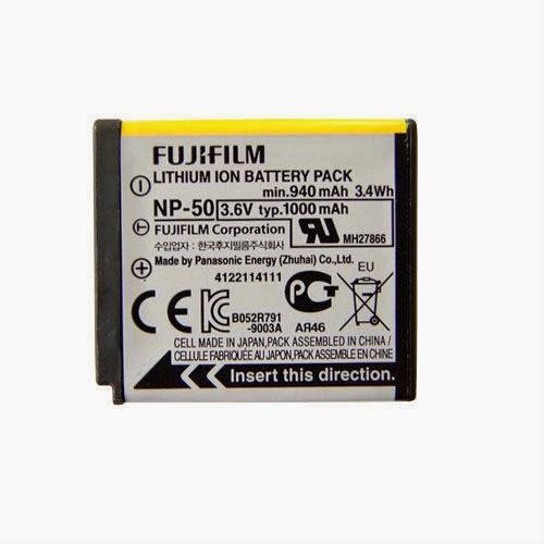 Fujifilm NP-50 Battery FinePix X20 XF1 F900 EXR XP200 XP170 XP160 XP110