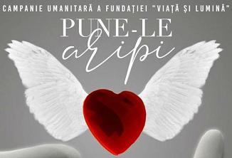 """Concert de caritate """"Pune-le aripi"""" cu Alin & Emima Timofte la Romexpo București"""