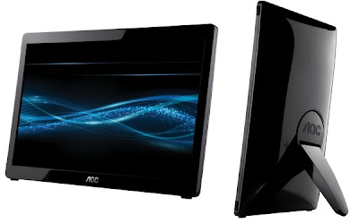 AOC e1649fwu Stylish Portable USB Monitor