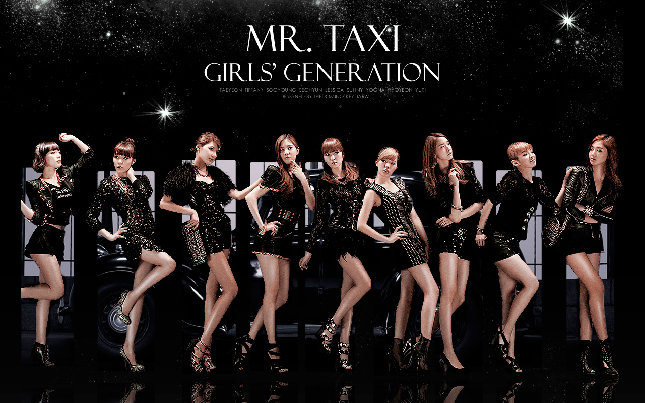 SNSD Mr Taxi Out