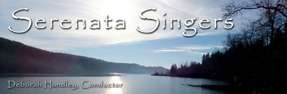 Serenata Singers Women's Choir based in Mission, BC, open to women in the Central Fraser Valley