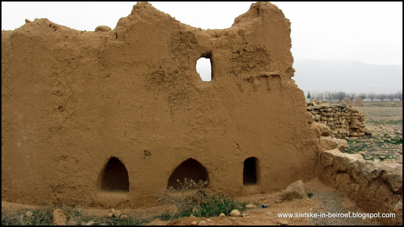 Ancient Mud Brick Houses In The Old Days Mud Was The