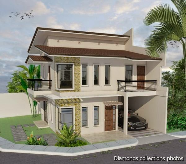 33 beautiful 2 storey house photos for Simple but beautiful house plans