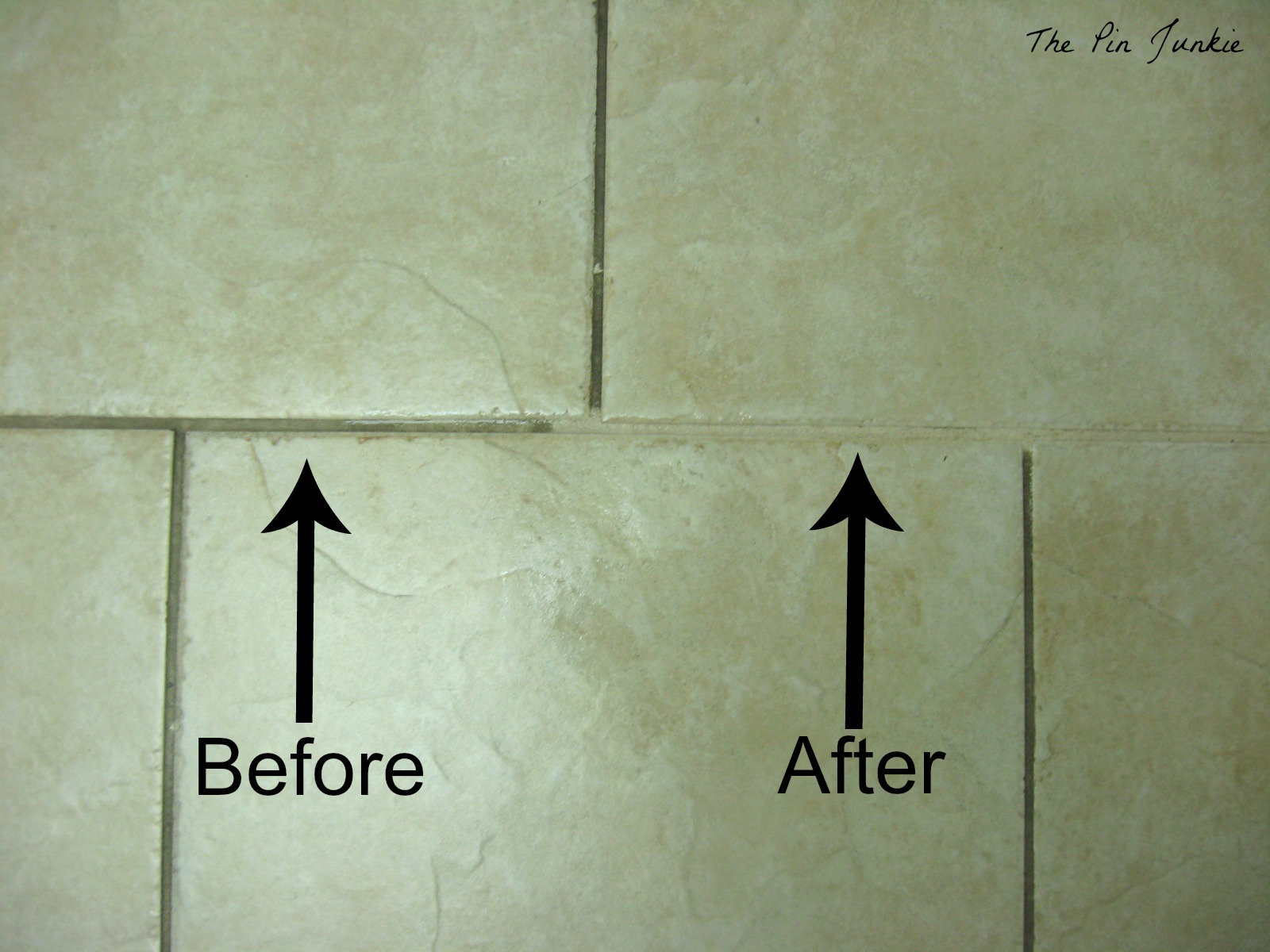 the pin junkie: how to clean tile grout