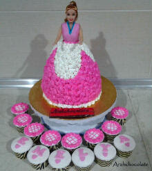 CAKE - BARBIE