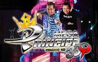 Capa do CD do Mega Principe