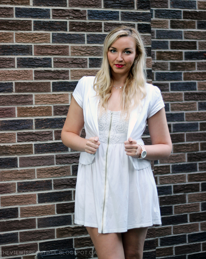 All White Summer #Style | www.theviewisbeautiful.blogspot.ca