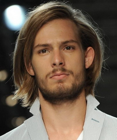 Mens Long Hairstyles 2013 Bob