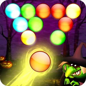 Bubble Shoot Halloween app