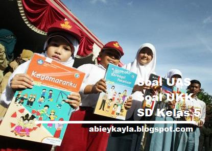 Download Soal UAS dan UKK Kelas 5 SD Lengkap Kurikulum KTSP