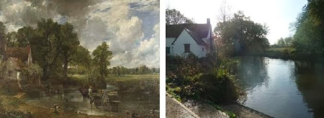 The Hay Wain Now and Then