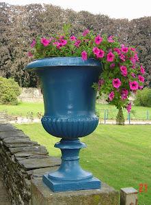 O vaso azul