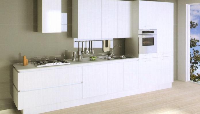 Il mondo dell 39 interior design la cucina - Cucine in linea moderne ...