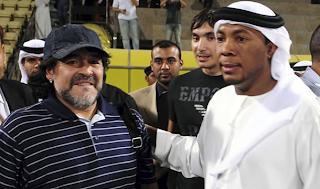 Millonario contrato para Maradona Dubai