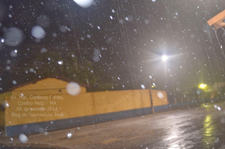 chuvas em coelho neto