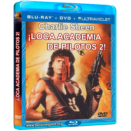 LOCA ACADEMIA DE PILOTOS 2 (1993) 1080P BLU-RAY [X264] ESPAÑOL LATINO