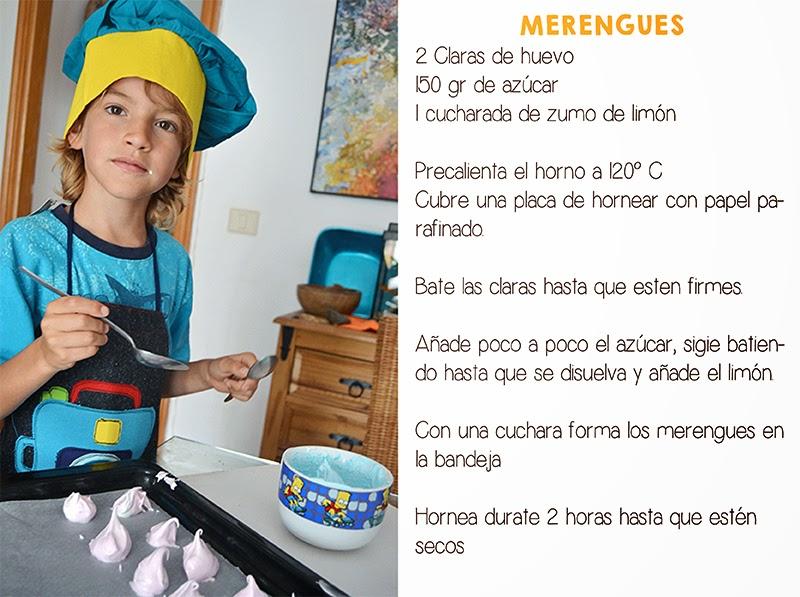 receta merengues