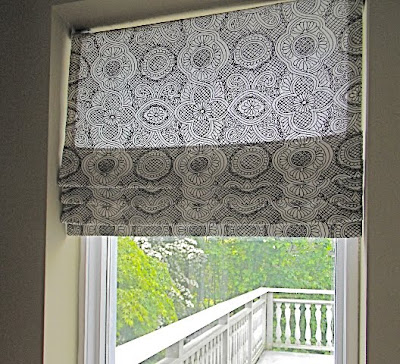 House Of Fifty Blog Diy Faux Roman Blinds
