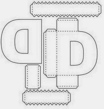 Letras Navidenas also Letra I 0 together with Moldes De Letras Para Natal further Alfabeto 3d furthermore Dibujos Para Colorear Palomas De La Paz. on moldes de alfabeto