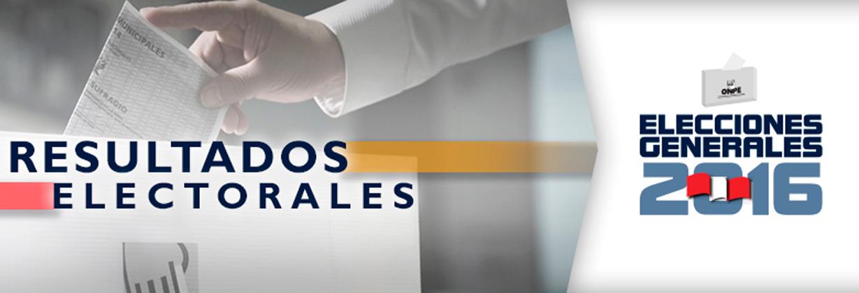 ONPE: CONOZCA RESULTADOS OFICIALES DE CANDIDATOS AL CONGRESO POR REGIONES