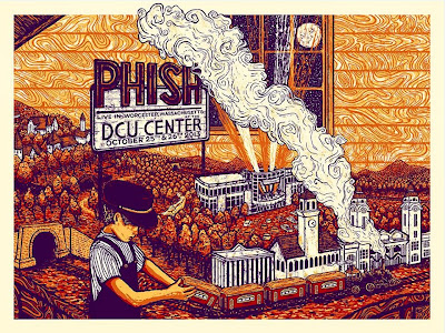 Worcester, MA Phish Poster by James Eads