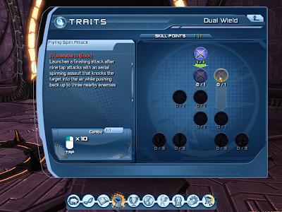 DC Universe Online - Dual Wield Tree