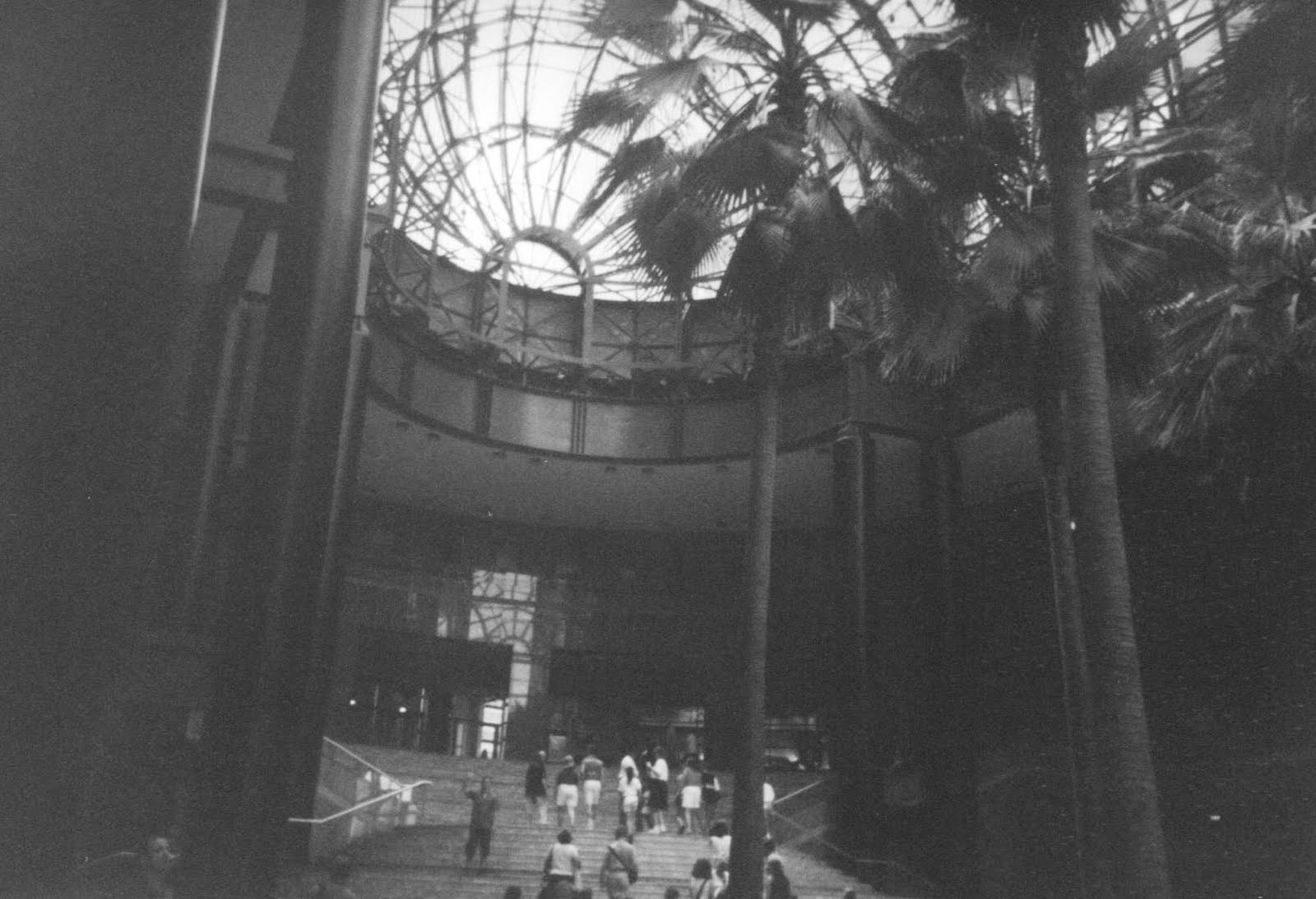 Winter Garden Atrium Near WTC In 2000. View Photo Of Damage Before  Reconstruction.