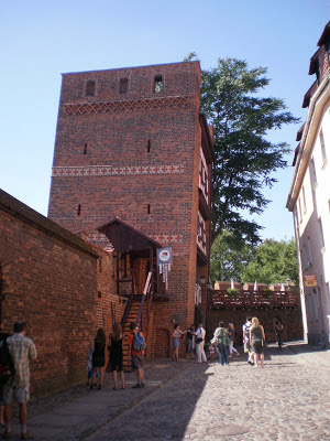 torre pendente di Torun
