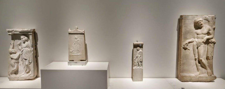 Estelas funerarias romanas