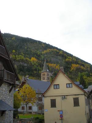 Arties a la tardor Val d'Aran Pirineu de Lleida