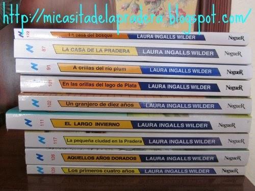 Los libros de laura ingalls wilder mi peque a casa de la - Laura ingalls la casa de la pradera ...
