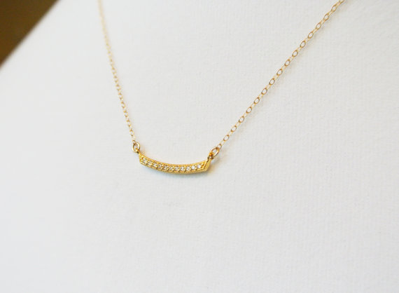 ... : Curved Bar Necklace from Angel Wing Jewelry Giveaway - 2 WINNERS