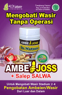 Ambejoss de nature dan salep salwa solusi ampuh untuk ambeien atau wasir