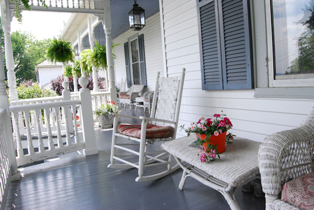 Relax at The Claiborne House Bed and Breakfast of Virginia - No Sporks Allowed!