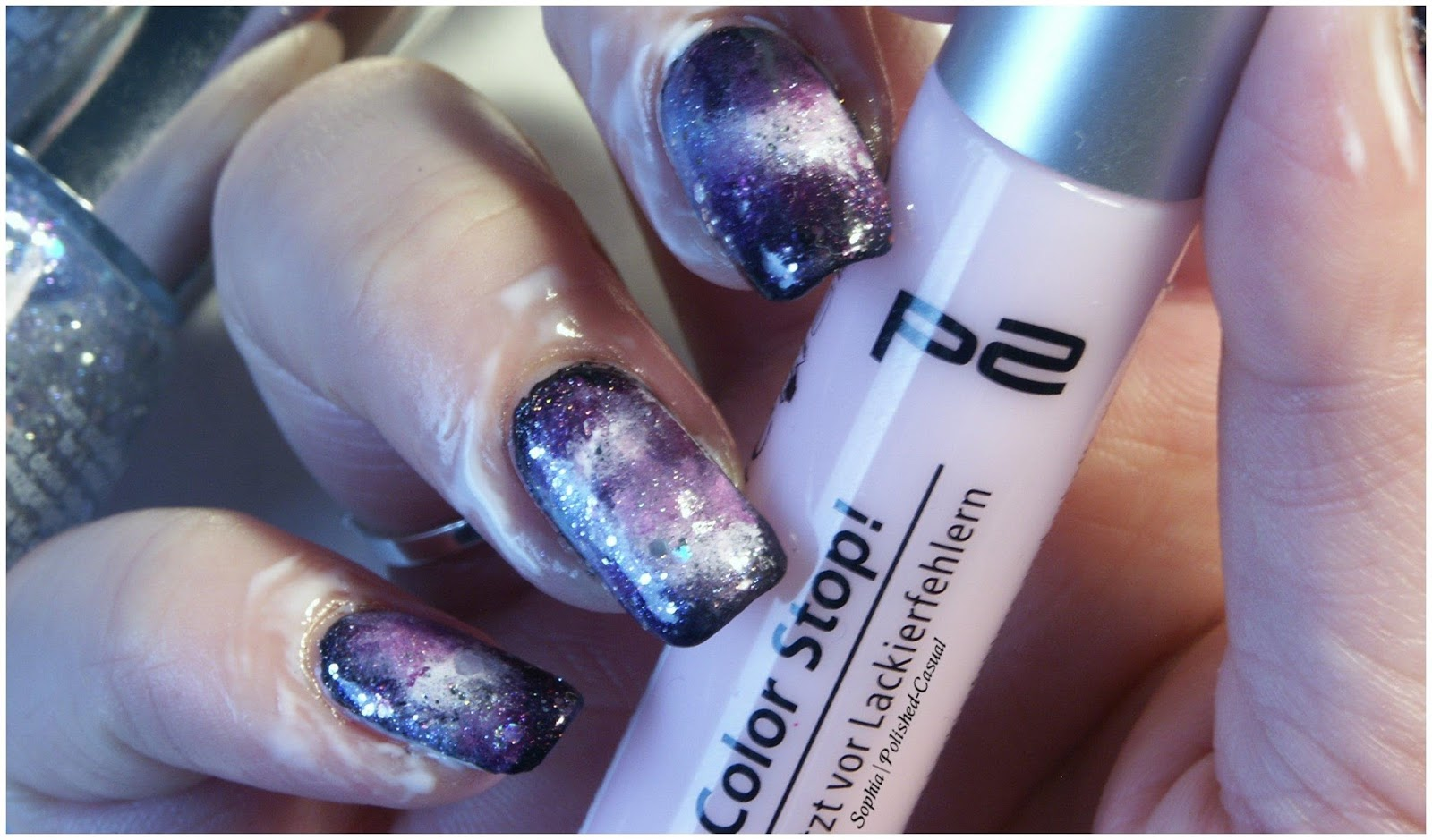 Aztec Galaxy Nails + Pictorial | Polished Casual