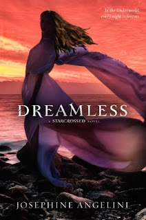 cover of 'Dreamless' by Josephine Angelini