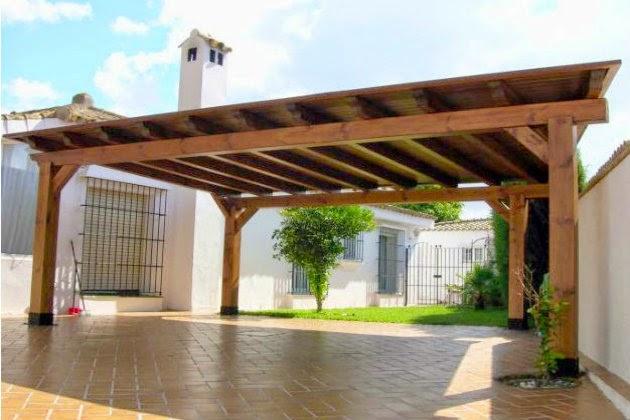 P rgolas de madera ideas y consejos metacrilatos - Pergolas para jardines ...