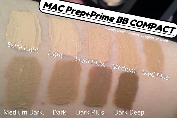 Mac Prep + Prime BB Beauty Balm Compact; SPF 30: Review & Swatches of Shades;