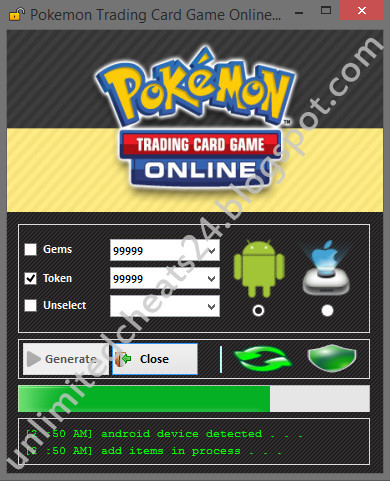 Pokemon trading card game online codes hack