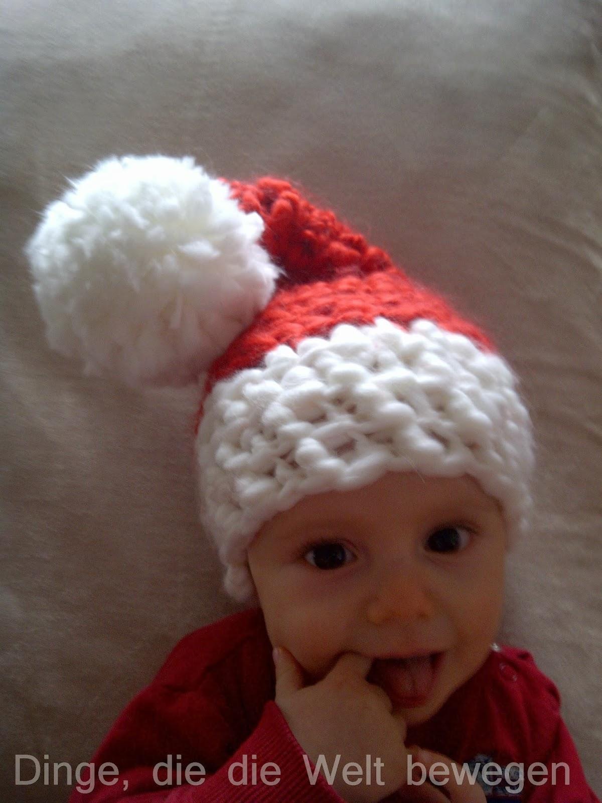 Baby Weihnachtsmannmütze Dinge Die Die Welt Bewegen