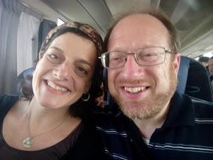 Robert and me