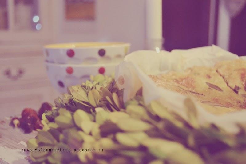 Un' attimo di felicità .. { Ghirlanda di Shortbread Rosmarino, Salvia & Pistacchi }- shabby&countrylife.blogspot.it