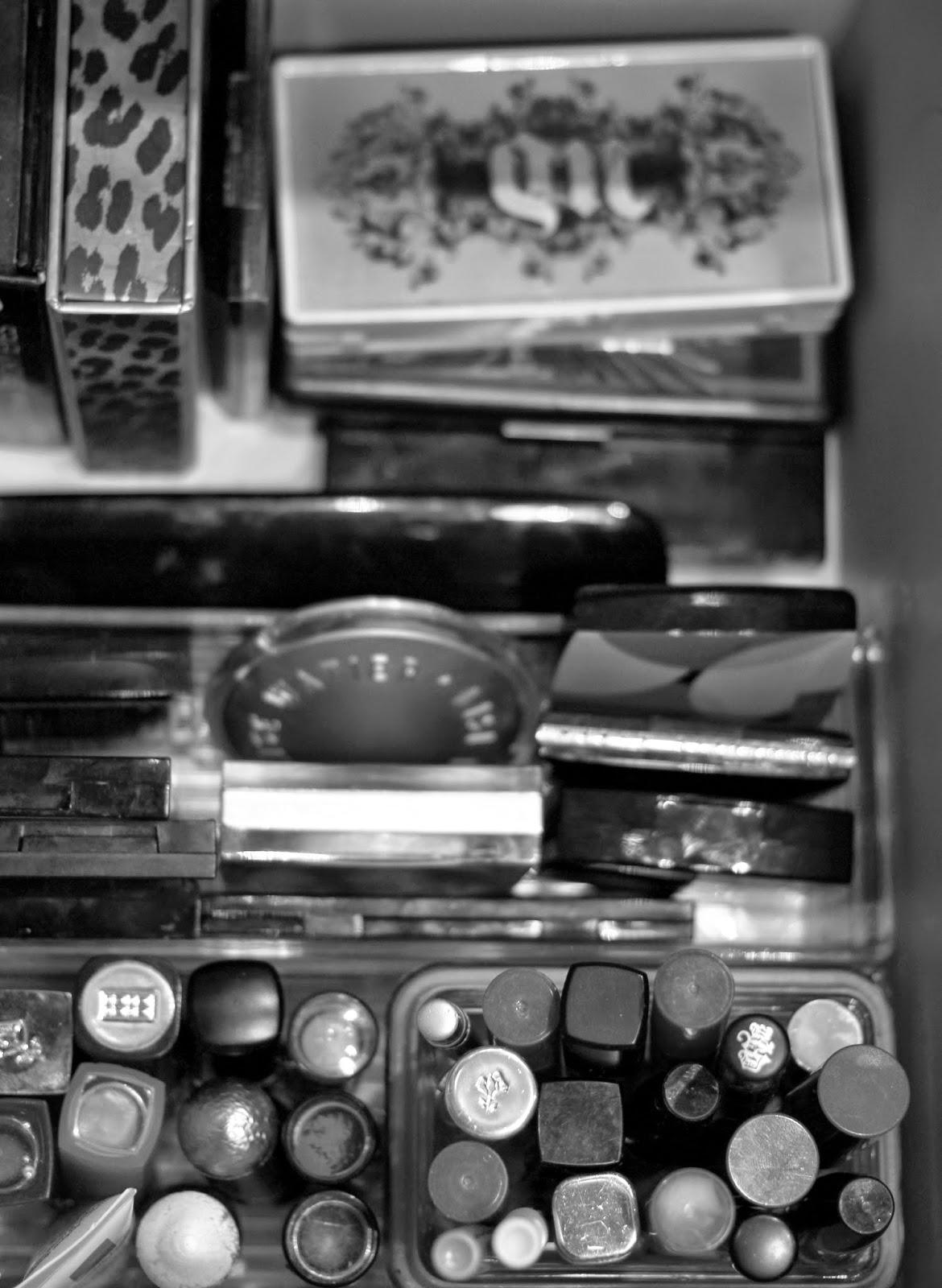 makeup collection, makeup storage