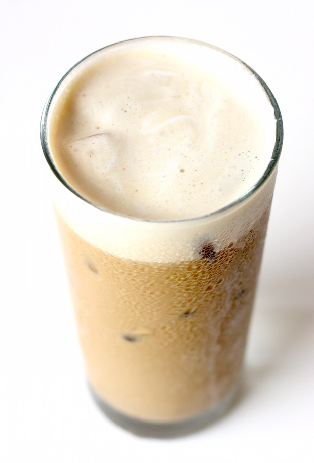 Iced Yuanyang Coffee-Tea drink recipe by SeasonWithSpice.com