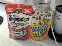 Temptations and Friskies Pary Mix Cat Treats